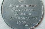 Медаль настольная 50 лет военкоматам СССР, фото №5