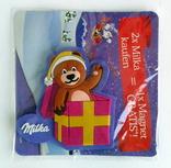 Магнит магнитик на холодильник Подарок к Рождеству Milka Германия