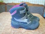 Високі утеплені кросівки ECCO р.33