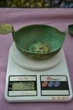 Стариний комплект, срібної посуди з гербом photo 12