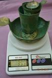 Стариний комплект, срібної посуди з гербом photo 13
