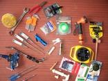 Разный инструмент и инвентарь