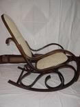 Кресло-качалка в тонетовской технике. Новая. Европа.