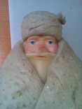 Дед мороз и Снегурочка СССР под ёлку большие на подставках