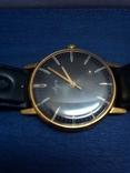 Часы Луч, мужские, с жёлтым механизмом. На ходу. photo 1