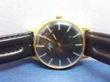 Часы Луч, мужские, с жёлтым механизмом. На ходу. photo 2