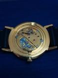 Часы Луч, мужские, с жёлтым механизмом. На ходу. photo 3