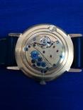 Часы Луч, мужские, с жёлтым механизмом. На ходу. photo 4