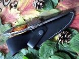 Нож из дамасской стали,ручной работы