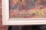 Зас.худ.Укр.Бабинец Й. раз.70х80см.х.м. 2001г. Закарпатская школа, фото №3