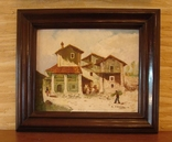 Антикварная картина испанского художника MANUEL REVILLA, 1921-1983