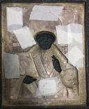 Икона Святого Николая Чудотворца в серебряном окладе (32*26 см. ) photo 6