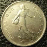 5 франків Франція 1972, фото №3