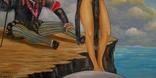 Холст,Масло. '' Управляя иллюзией .'' 45 * 50 см. photo 4