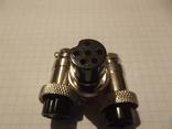 Штекер катушки металлоискателя на 6 pin (1 шт.)