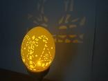 """""""Терези"""" знаки зодіаку. Карвінг на яєчній скорлупі, фото №6"""