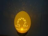 """""""Терези"""" знаки зодіаку. Карвінг на яєчній скорлупі, фото №7"""