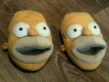 Симпсоны - теплые прикольные тапки разм.38 photo 1