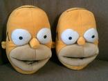 Симпсоны - теплые прикольные тапки разм.38 photo 2
