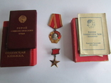 Герой Социалистического Труда . photo 1