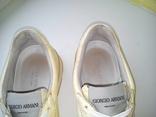 Кросовки Giorgio Armani из Натуральной Кожи (Розмір-35), фото №12