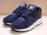 0120 Мужские Кроссовки Nike Хуарачи, легкие, цвет-синий, 42 размер - 26.5 см стелька