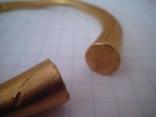 Браслет Золото 61 Грам Размер 6 см До 900 года photo 4