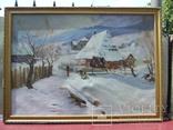 Нар.худ.Укр.К. Якубек х.м раз. 100Х70 см. 1968 г. Закарпатская школа.