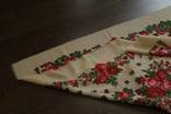 Шерстяной старинный платок №112, фото №9