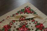Шерстяной старинный платок №112, фото №10