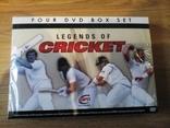 LEGENDS OF CRICKET - 4 DVD новый запечатанный отличный подарок на НГ photo 1