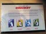 LEGENDS OF CRICKET - 4 DVD новый запечатанный отличный подарок на НГ photo 2