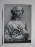 Женский портрет.1964г., фото №2