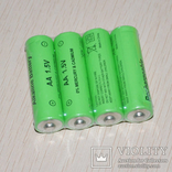 Батарея перезаряжаемая АА 1.5 вольт