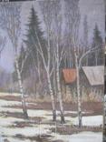 Пейзаж,х.м., фото №4