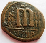 Медные фоллис, PHOCAS (602-610), мондвор -Теуополис (Антиохия)