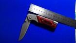 Нож раскладной с насадками, фото №7