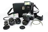 Зеркальный пленочный фотоаппарат Carena 1000 с аксессуарами. Япония. (0618) photo 1