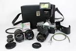 Зеркальный пленочный фотоаппарат Carena 1000 с аксессуарами. Япония. (0618) photo 2