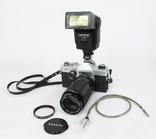 Зеркальный пленочный фотоаппарат Carena 1000 с аксессуарами. Япония. (0618) photo 3