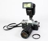 Зеркальный пленочный фотоаппарат Carena 1000 с аксессуарами. Япония. (0618) photo 4