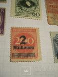 Старые почтовые марки СССР, США, Германии и пр. 10 шт., фото №7