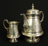 Старый кофейный набор. Серебрение. Европа. (0621) photo 1