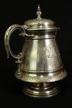 Старый кофейный набор. Серебрение. Европа. (0621) photo 4