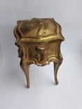 Старая винтажная Шкатулка DEPOSE ( Франция ), фото №2