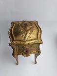 Старая винтажная Шкатулка DEPOSE ( Франция ), фото №3