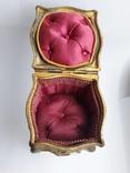 Старая винтажная Шкатулка DEPOSE ( Франция ), фото №4