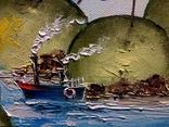 Корабль-чудак. И.Мовчан. 40х30 см. photo 9