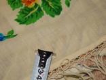Платок большой с бахромой ссср шерсть 0148, фото №3