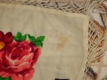 Платок большой с бахромой ссср шерсть 0148, фото №4